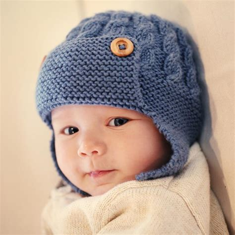 knit baby hats knitting patterns for baby boy hats images