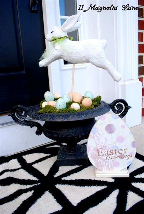 40 Outdoor Easter Decorations Ideas 40 Awesome Outdoor Easter Decoration Inspirations
