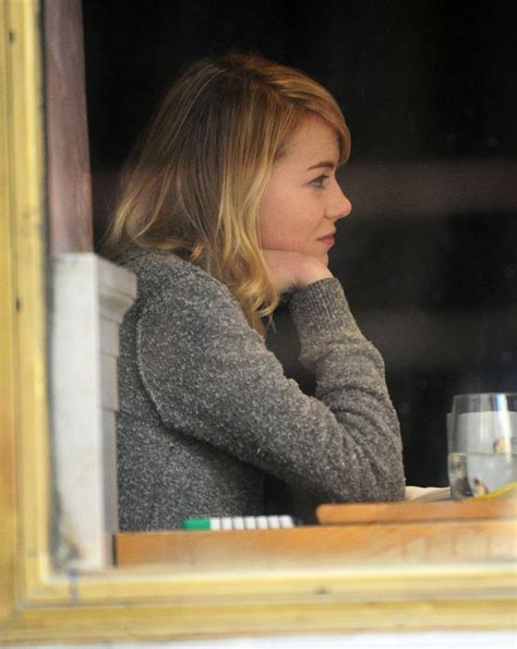 emma stone q and a emma stone photos photos emma stone grabs lunch with a