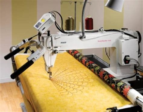 Machine Settings For Quilting by Pfaff Grand Quilter Best Sewing Machines