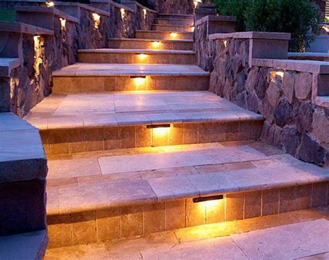 outdoor lighting stairs outdoor lights for safe yard landscaping beautiful