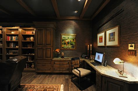 home office design houston 22 warm wooden home office designs home design lover