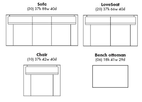 couch length projects in computers rhino furniture objects and