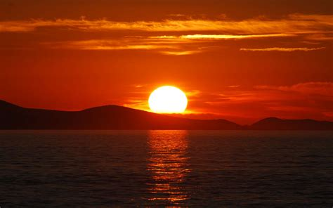 le du soleil soleil pourquoi le soleil devient il orang 233