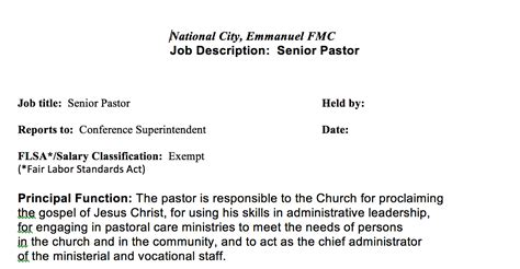 Church Administrator Salary by General Administrator Description Jobisjob United Kingdom Categories According To Our Data