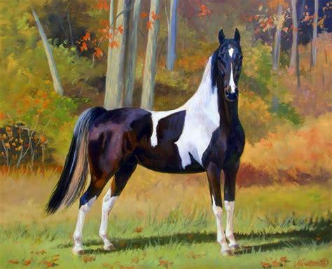 imagenes realistas estilizadas im 225 genes arte pinturas equinos en paisajes pinturas