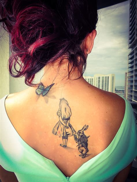 girlie tattoos in miami girly rabbit