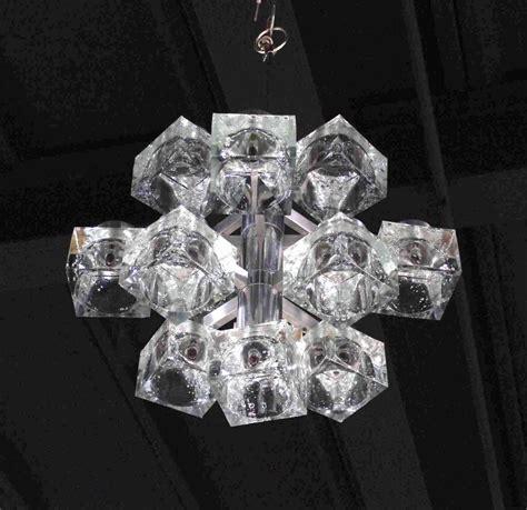 Cube Light Fixture Gaetano Sciolari Quot Cube Quot Light Fixture For Sale At 1stdibs