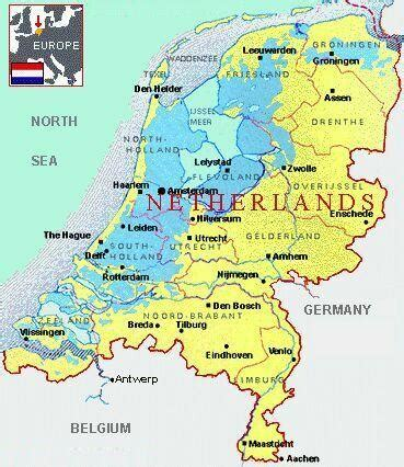 map of netherlands cities pictures map of netherlands