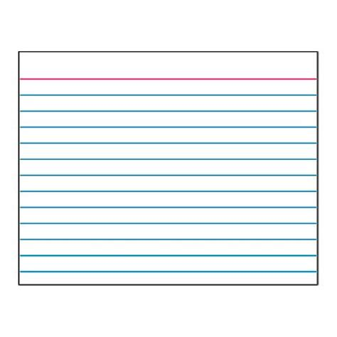 printable index cards template 8 best images of printable index cards index card