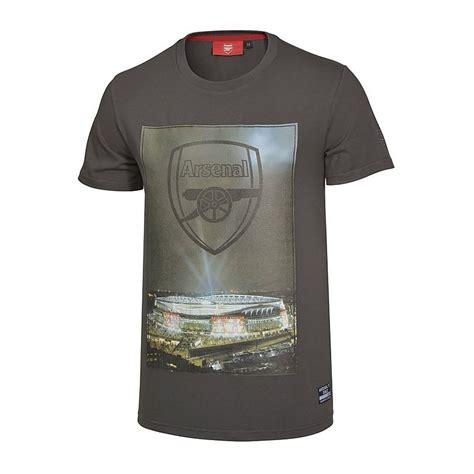 arsenal direct arsenal stadium print t shirt t shirts clothing mens