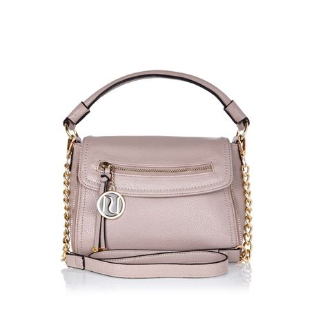 Slouch Bag by River Island Pink Mini Cross Slouch Bag In Pink Lyst