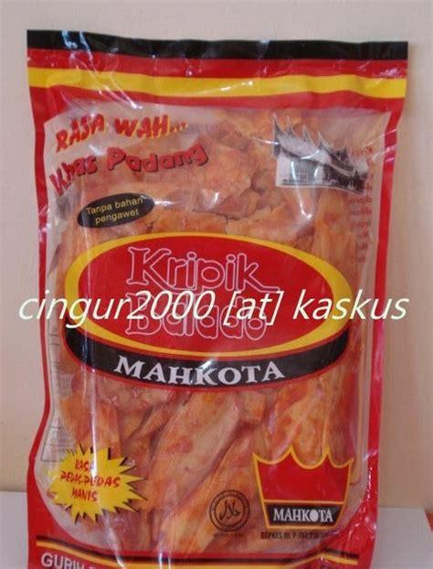 Kipang Kacang H Anas pusat oleh oleh khas ranah minang katalog camilan mahkota