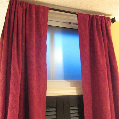 Curtains For Basement Windows Basement Window Curtains Ideas