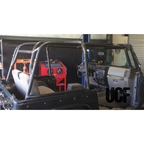 Jeep Wrangler Roll Cage Cover Fabworks Llc Ucf Tj Roll Cage For Jeep