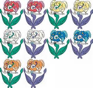 flabebe colors florges by krocf4 on deviantart