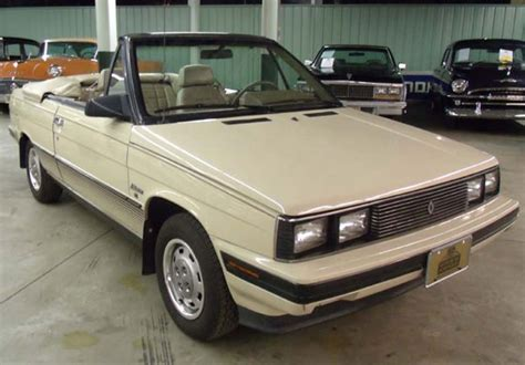 renault alliance tan 1985 amc alliance renault l convertible