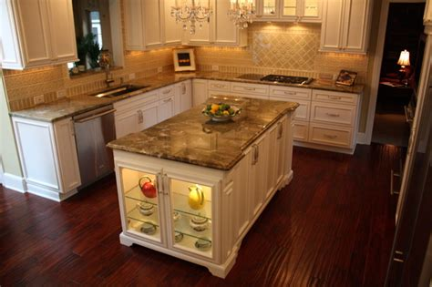 Cooktop Replacement Glass Custom Kitchen Island Traditional Kitchen Cleveland