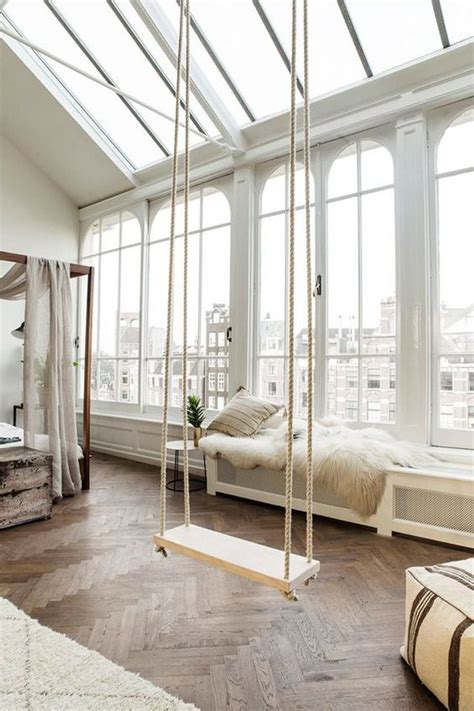 swings for your room 8 swing ideas for your dreamy home daily dream decor