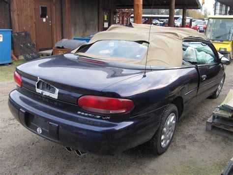 Chrysler Sebring 98 by Chrysler Sebring 98 187 Usa Bildelar Ab