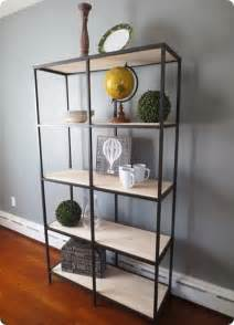 ikea hack vittsjo shelving unit