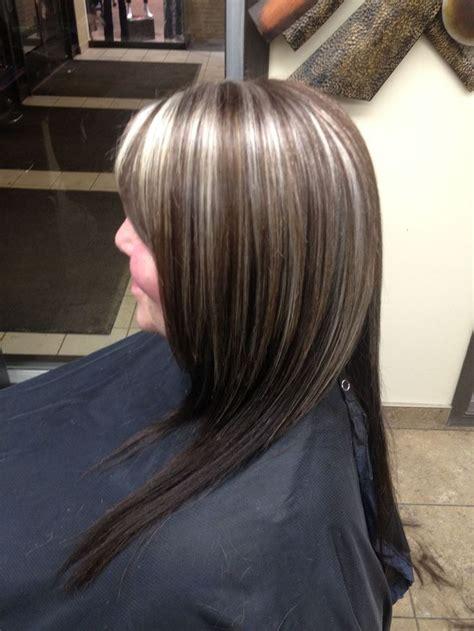 brunette to platinum streaks 17 best ideas about gray streaks on pinterest one blonde