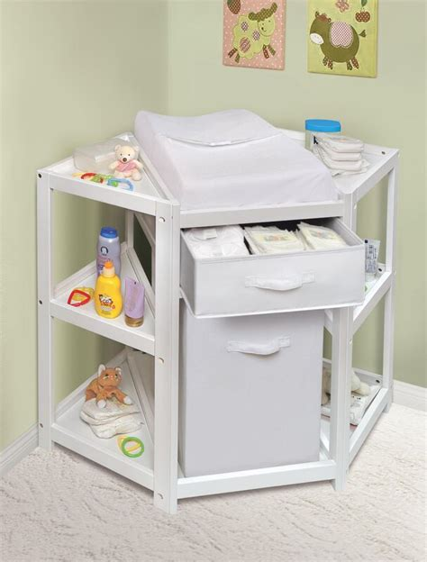 badger basket diaper corner baby changing table reviews