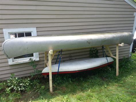 canoe and kayak storage rack jonathan damon