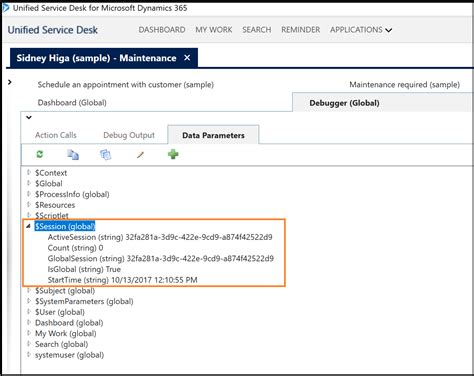 usd it help desk session management in unified service desk for dynamics