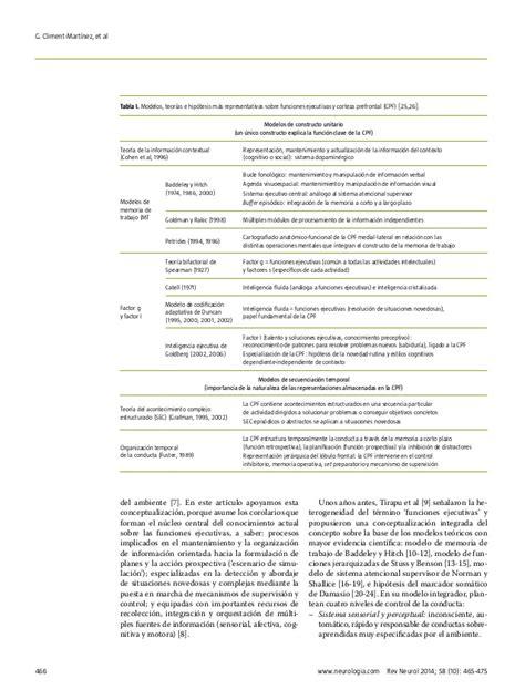 Alis Lu Avanza evaluaci 243 n neuropsicol 243 gica de las funciones ejecutivas