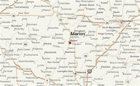 marion map marion location guide