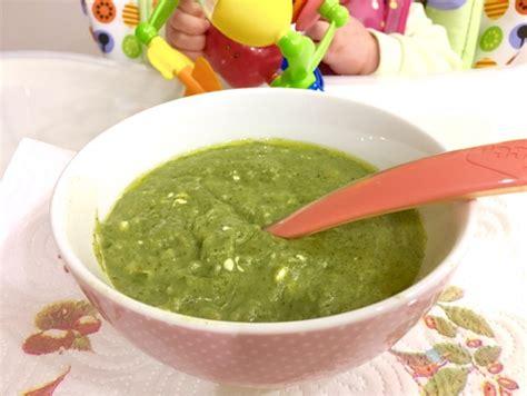 alimentazione infantile alimentazione infantile pappa con spinaci e coniglio