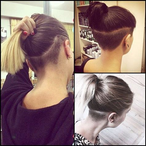 stylish choti of ladies long hair back side 1000 ideas about undercut long hair auf pinterest