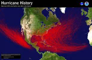 us hurricane history map what does the desert to do with hurricanes