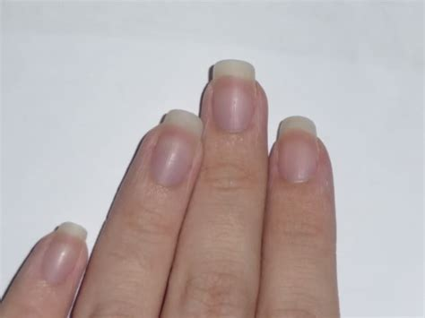 pale nail beds opi french manicure kinna