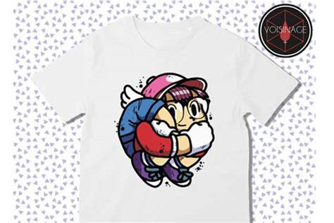 Tshirt Arale Dr Slump encre m 233 canique et voisinage la collection de t shirt du