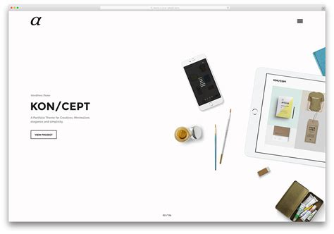 themes wordpress free minimal 40 best minimalist wordpress themes for creatives 2018