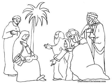 three kings day coloring pages los tres reyes magos