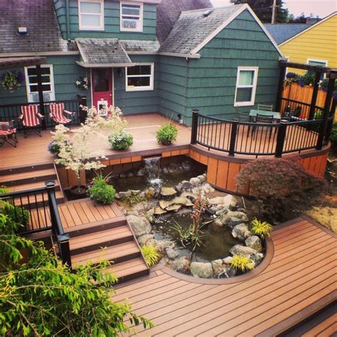 backyard deck prices deck 2017 cost of composite deck cost of composite deck