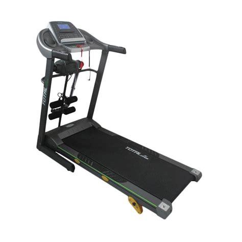 Treadmill Elektrik Tl 222c jual total fitness tl 288 treadmill elektrik harga kualitas terjamin blibli