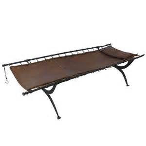 Antique french folding military cot at 1stdibs