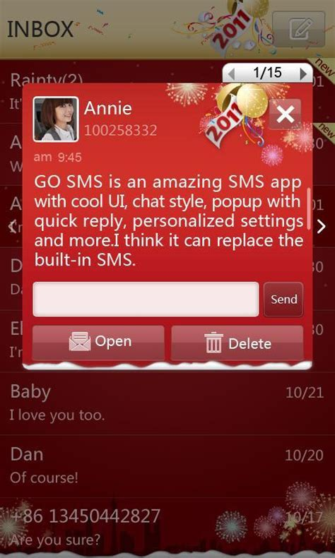 new themes for go sms download gratis go sms pro new year red gratis go sms