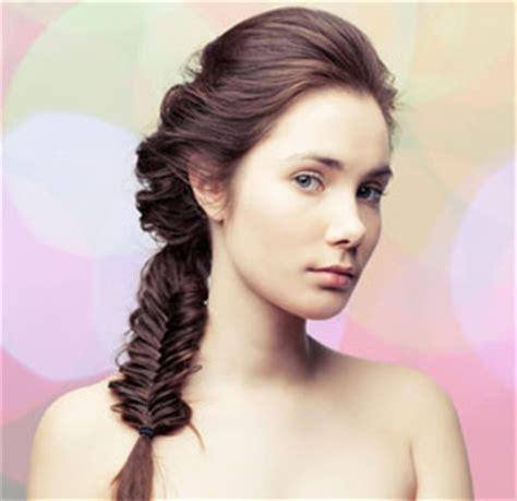 easy hairstyles with box fishtales peinados de fiesta trenza cola de pez 2014