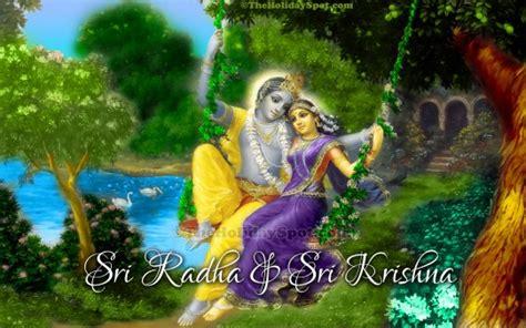 krishna wallpaper for windows 7 sri radha and sri krishna wallpapers from theholidayspot