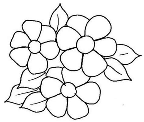 imagenes de flores hermosas para imprimir flores para colorear f 225 ciles dificiles y hermosas