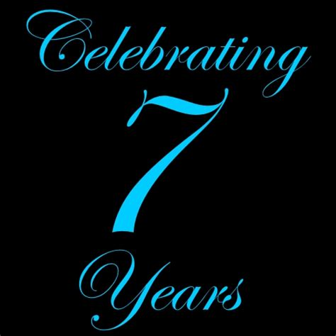 7 in years celebrating 7 years thank you extremeprelude