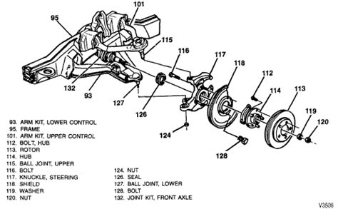 front wheel assembly diagram 2001 toyota corolla rear suspension diagram 2001 free