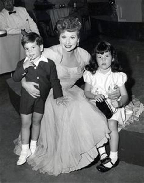 lucille ball and desi arnaz children lucy and children 1950 s lucille ball famous people