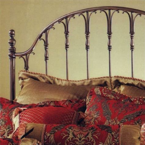 Antique Metal Headboard Hillsdale Metal Antique Bronze Headboard Ebay