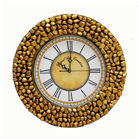 Handcrafted Clocks - wooden handcrafted wall clock yac16 buy wooden